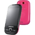 Samsung - Telefono cellulare Corby S3650 Pink