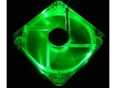 Ventola Led Fan 120x120mm Verde